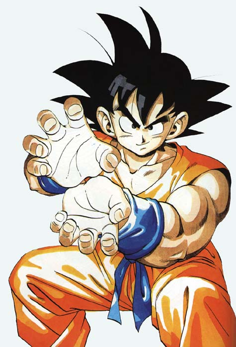 Personajes de anime que sean tu favoritos... Goku
