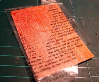 Как с помощью скотча перевести текст или картинку с одного листа бумаги на другой DSC03704