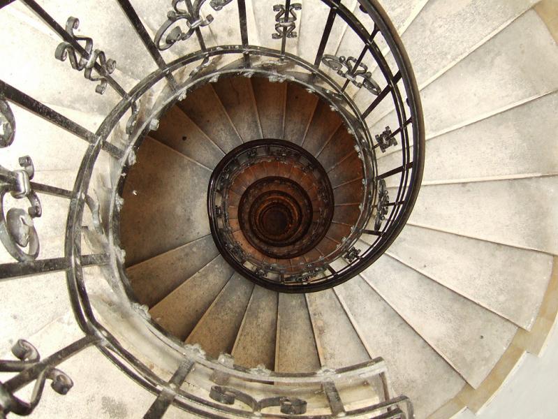 El número áureo St-stephens-basilica-budapest-spiral-staircase