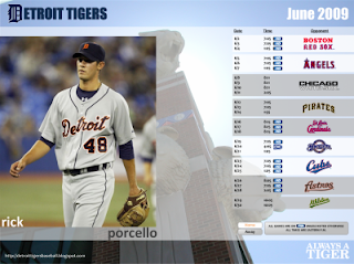Monthly Tiger Schedule Wallpaper June2009-400x300