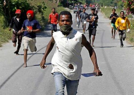 Blackout La Chamb Nan Sermnon Martelly a te yon Act de Sabotage Machete_gangs-timor