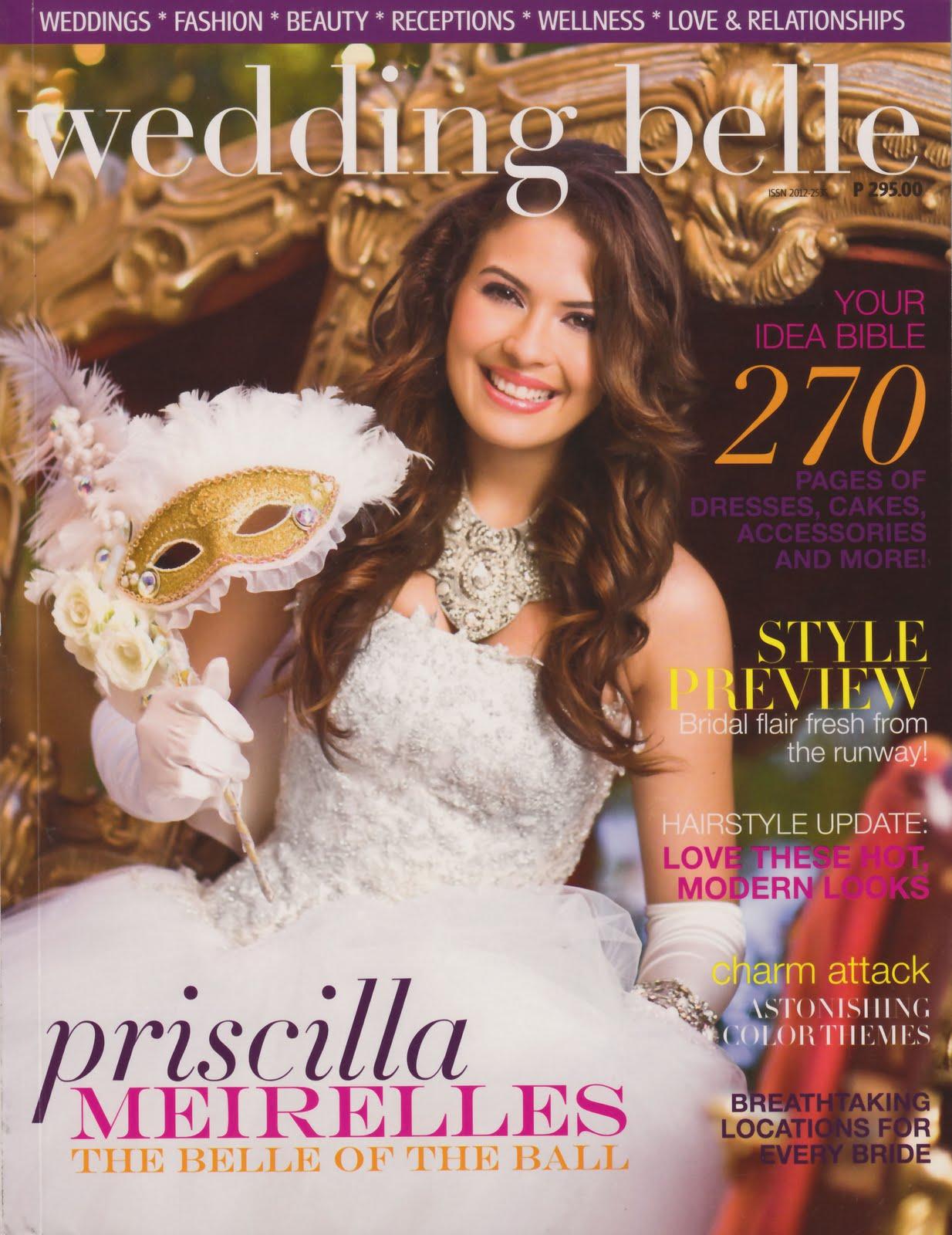 ⊰✿• .¸¸.⊰ Galeria de Priscilla Meirelles, Miss Earth 2004.⊰✿• .¸¸.⊰  - Página 3 Wedding%2BBelle%2B(Oct%2B2009)%2B