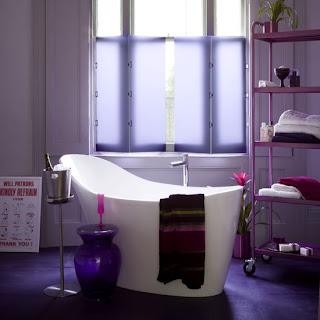 اللون البنفسجي Violet-bathroom2