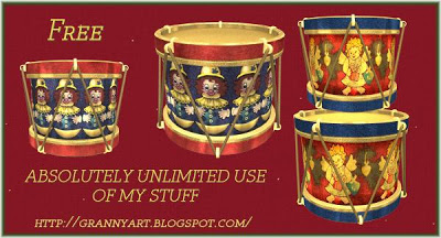 Christmas-Drum-1 in png free by Helga Stolzenwald Christmas-Drum-1-tumb