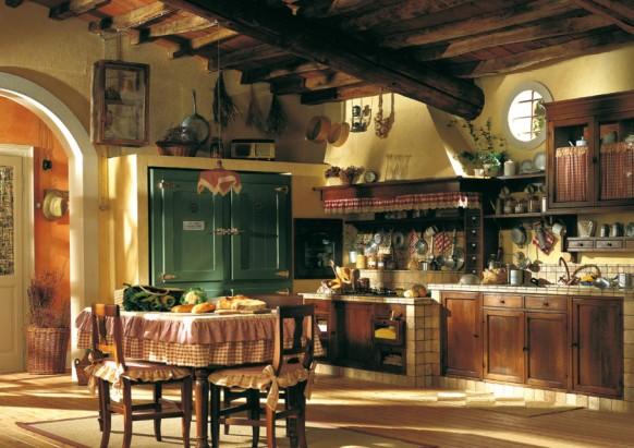 مطابخ كلاسيكيه - صفحة 2 Country-style-kitchen-582x411