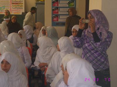 ندوة بالمدرسة قامت بها جمعية الامل للرعاية24/3/2010م IMG_2880