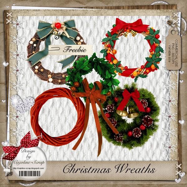 CHRISTMAS WREATHS - CU Cajoline_christmas_wreaths