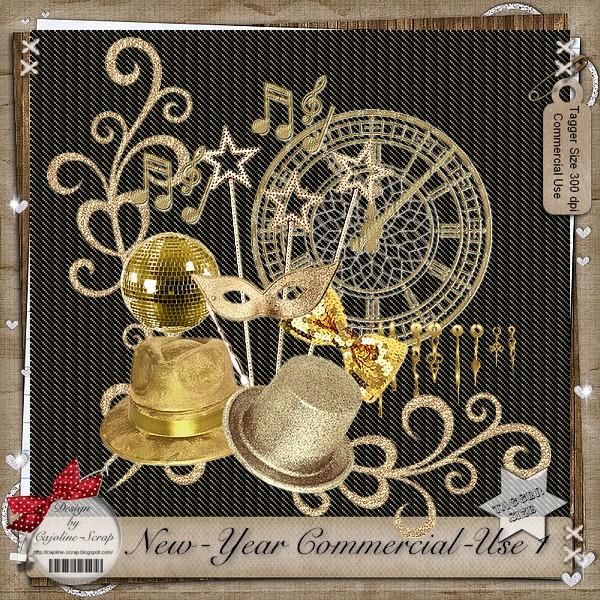 NEW-YEAR CU ELEMENTS 1 Cajoline_new-yearcu1