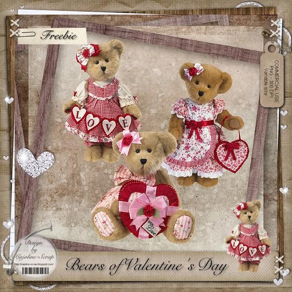 BEARS OF VALENTINE'S DAY - CU Cajoline_bearsofvalentineday_cu