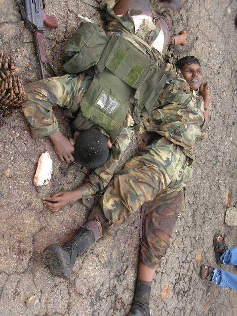 LTTE (Liberation Tigers of Tamil Eelam) Sri%2Blankan%2Bairbase%2Battack%2B%2Bltte%2Bdead%2Bbodies6