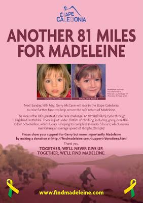 Another 81 miles for Madeleine 81milesforMadeleine