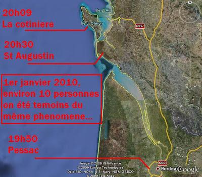 Les observations d'ovnis en 2010 01012010