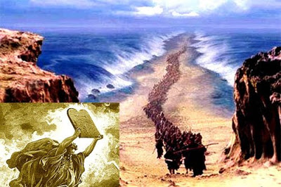 Moses and the passage of the red sea Moses_red_sea