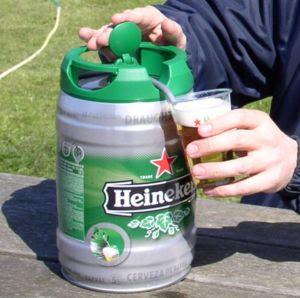 Heineken Mini Keg Fuel Tank Heineken-5l-draughtkeg