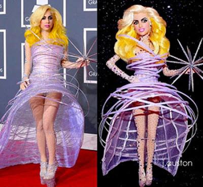 Julkkikset/Tunnetut henkilöt Gaga-doll