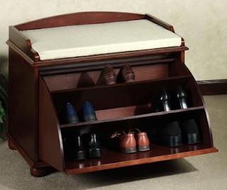 جزامات جميله تنفع لاى بيت Shoe-storage-bench