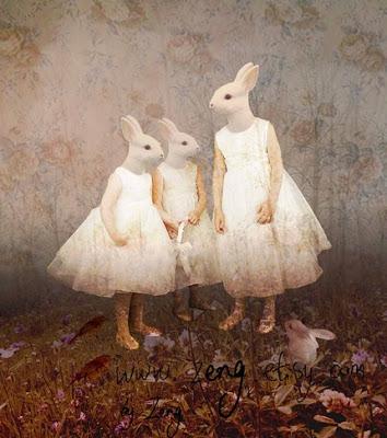 Le lapin dans l'art Rabbitgirls