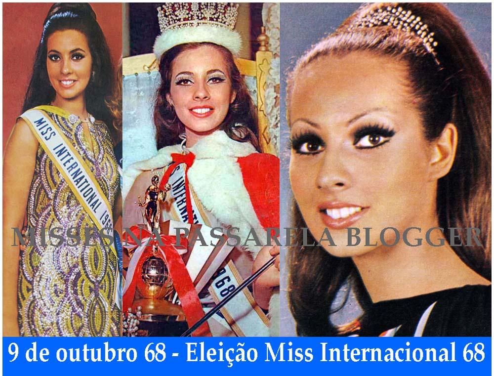 ♥♥ * *♥♥¸.· Maria da Gloria Carvalho, Miss International 1968. ♥♥ * *♥♥¸.·   M%2BGl%C3%B3ria%2B68c