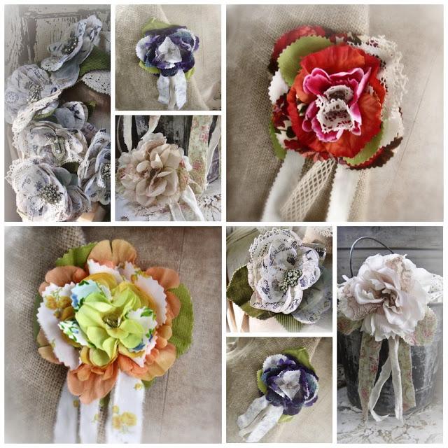И снова цветочки  Collage_rosettes_march