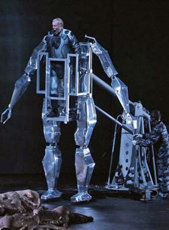 El Anillo del Nibelungo en el Palau de les Arts de Valencia Oro_Rhin