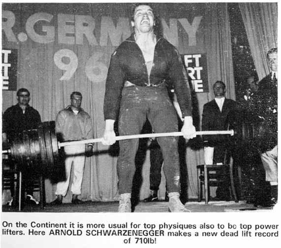 ¿Es verdad que el gimnasio de muy joven frena el crecimiento? Arnold-deadlifting