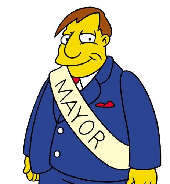Red County Управление  Simpsons-schip-page-not-a-hack-say-republicans-mayor-quimby