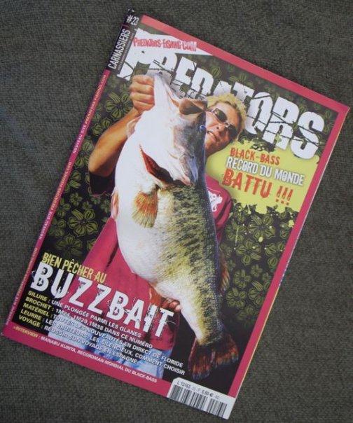 Después de 77 años sale un monstruo de Lobina / Black Bass Kurita%2520magazine1