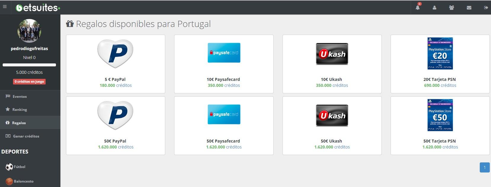 [SCAM] BetSuites - Aposta Gratuitamente e ganhar Prémios Monetários  Paypal! 17965878_O0lBW
