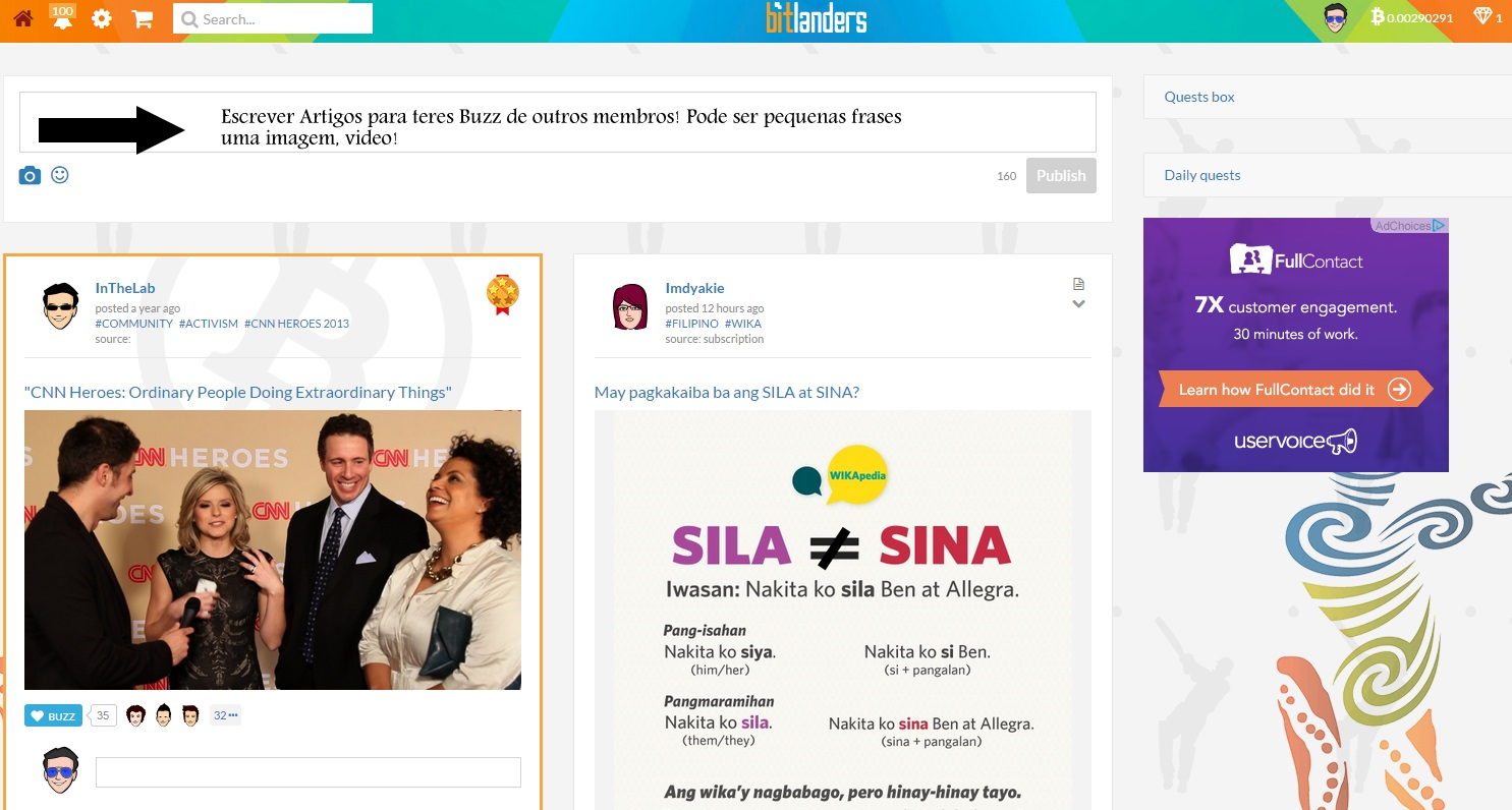 bitlanders - Bitlanders - Uma Rede Social que te paga em Bitcoin, Paypal! [ Recebi 3 x 10 Dolars] 18067565_Kr3tb