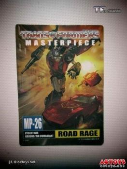[Masterpiece] MP-25L LoudPedal (Noir) + MP-26 Road Rage (Rouge) ― aka Tracks/Le Sillage Diaclone - Page 2 J0zs1xHV