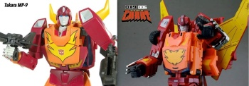 [DX9 Toys] Produit Tiers - Jouet D-06 Carry aka Rodimus et D-06T Terror aka Black Rodimus KFJ1u9Le