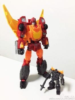 [DX9 Toys] Produit Tiers - Jouet D-06 Carry aka Rodimus et D-06T Terror aka Black Rodimus - Page 2 SarO25t5