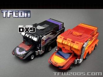 [DX9 Toys] Produit Tiers - Jouet D-06 Carry aka Rodimus et D-06T Terror aka Black Rodimus - Page 2 KsTKeZGX