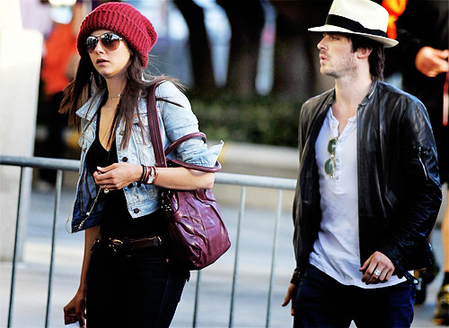 Nina Dobrev and  Ian Somerhalder. - Page 3 Tumblr_lm0tv5l0TL1qkaq8to1_500