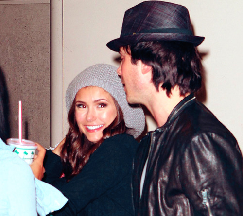 Nina Dobrev and  Ian Somerhalder. - Page 3 Tumblr_lm4ey38KBl1qbenyno1_500
