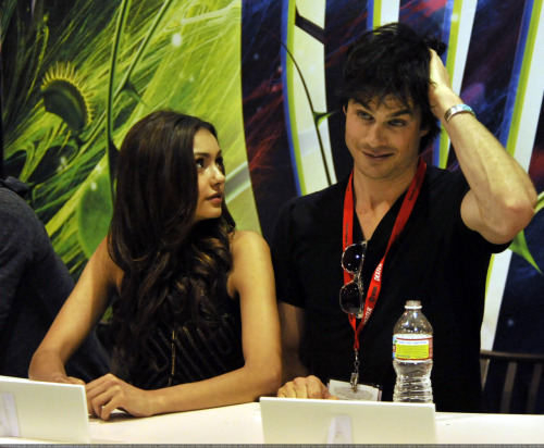 Nina Dobrev and  Ian Somerhalder. - Page 3 Tumblr_lma5ar3qzV1qkaq8to1_500