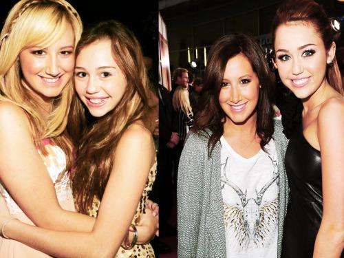 Ashley Tisdale and Miley Cryus Tumblr_ln7ro60UcP1qdwe10o1_500