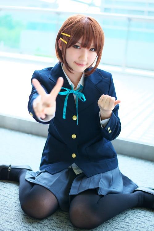 K-On cosplay Tumblr_loj9qxD1ku1qbo448o1_500