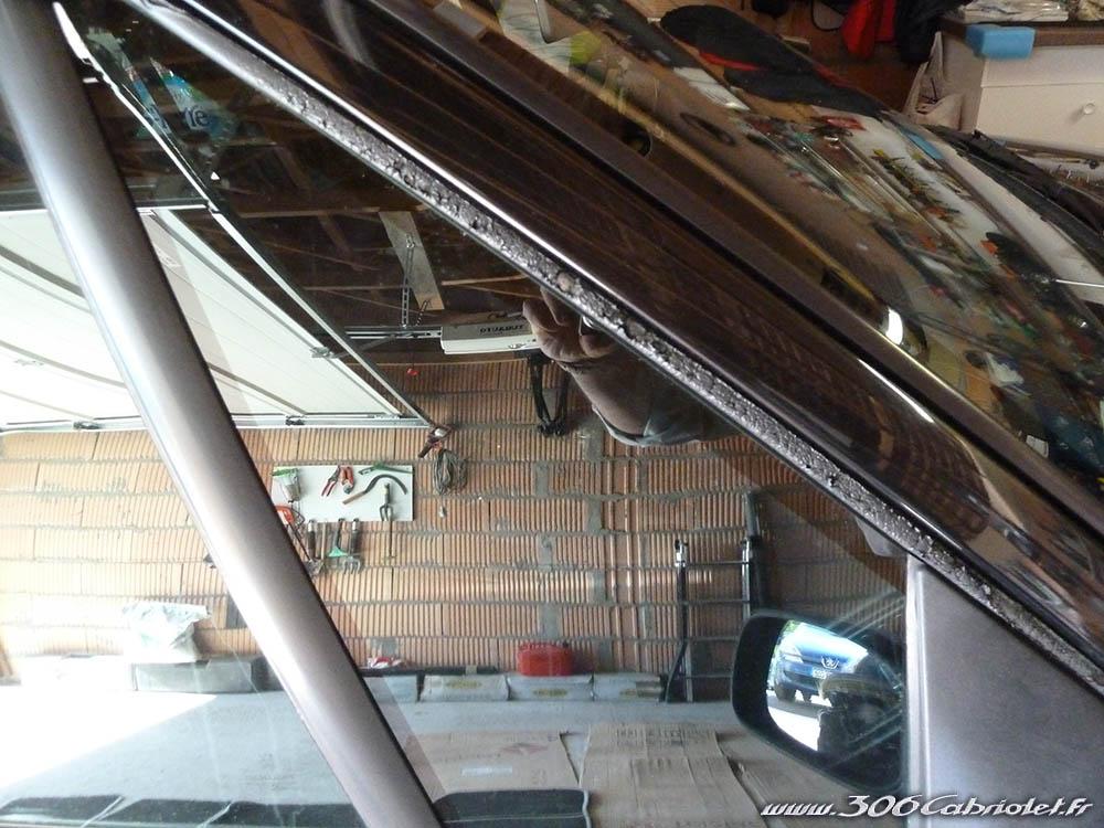 [ JUNTAS ] Junta entre para parabrisas y cristales laterales - Como mejorar su aspecto Joint-parebrise-repare01