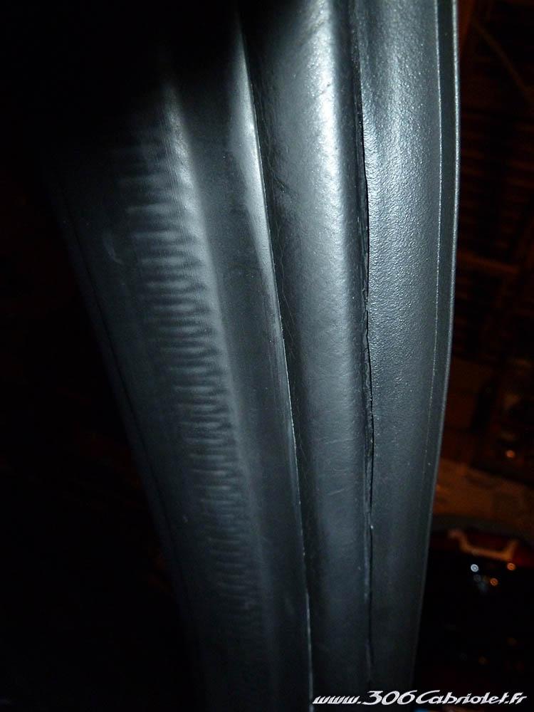 [ JUNTAS ] Junta entre para parabrisas y cristales laterales - Como mejorar su aspecto Joint-parebrise-repare05