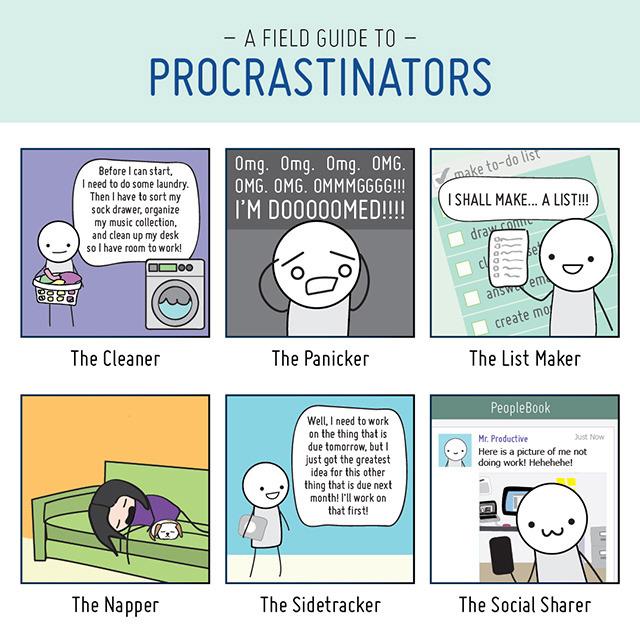[inspi] Procrastination, des techniques pour la combattre - motivation, gestion du temps ... Tumblr_mt89qgwlxt1qz6f9yo1_1280