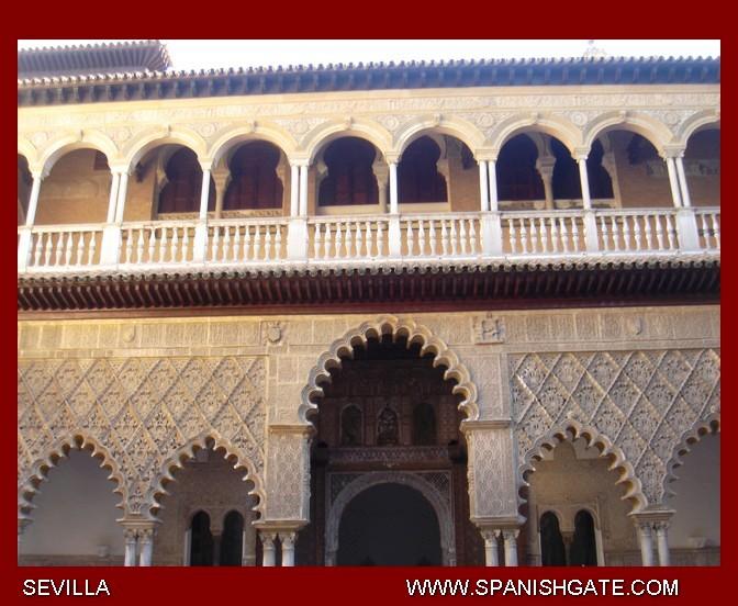 مدخل لقصر من قصور المعتمد ابن عباد Image00099