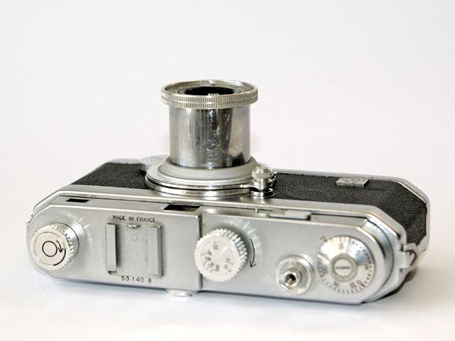Les appareils photos de Willy RONIS Foca-pf2b-top