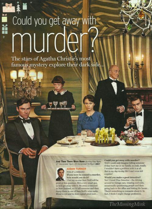 And then there were none (Dix petits nègres) d'Agatha Christie, une nouvelle adaptation de la BBC - Page 3 Tumblr_nzpgn4lOLL1ui7ta1o1_500