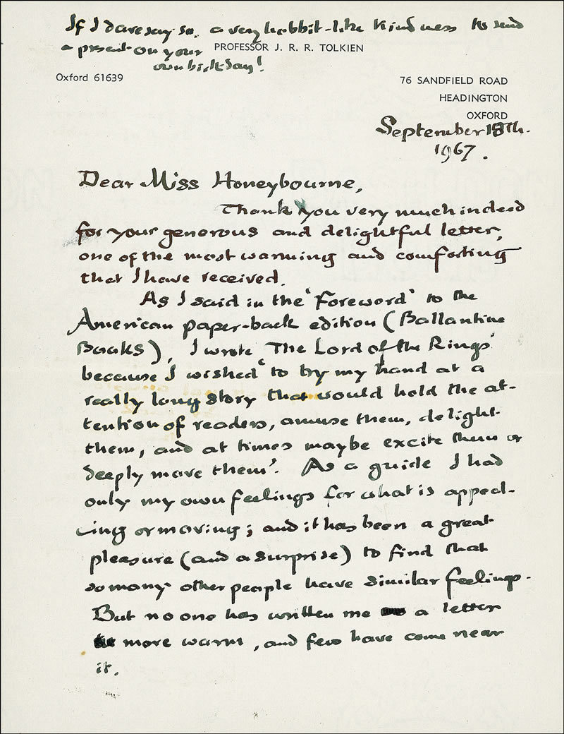 Unseen letters from Tolkien. Tumblr_lx8l2itE1N1qbalbwo1_1280