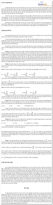 Nhớ công thức vật lý và tránh những sai lầm thường gặp trong làm trắc nghiệm Meo-lam-trac-nghiem
