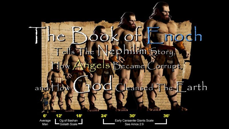 The Book of Enoch Tells The Nephilim Story, How Angels Became Corrupt, and How God Cleansed The Earth SnapShot35-e1523371075795