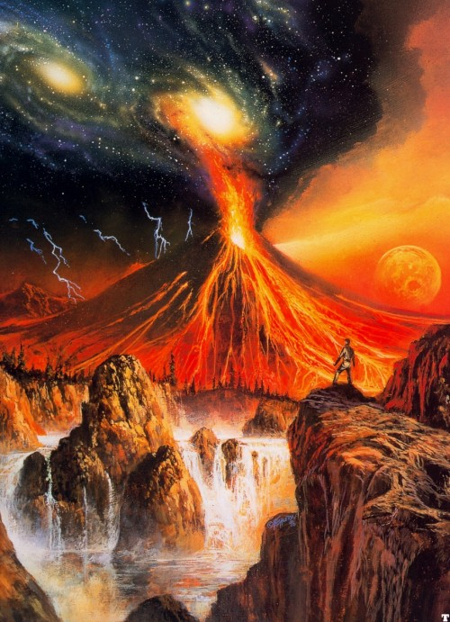 moonzerotwo: The Sky is Falling - Bob Eggleton