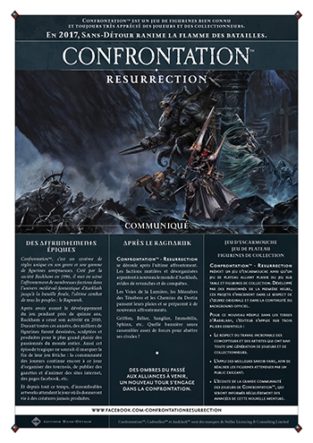 resurection de confrontation par Sans detour edition 0klnj