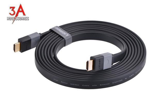 Sản phẩm cần bán: Cáp HDMI dẹt 1m cao cấp Ugreen 30108 Cap-hdmi-det-1m-ugreen-hd120-30108-1